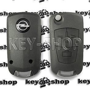Корпус выкидного автоключа Opel (Опель) 3 кнопки, лезвие HU46P (под переделку), фото 2