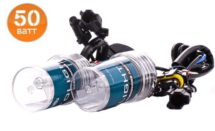 Ксеноновая лампа Infolight H8-9-11 5000K 50W (2шт)