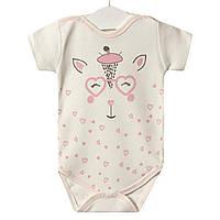 Боди для девочки Розовый жирафик Twetoon (2 мес)