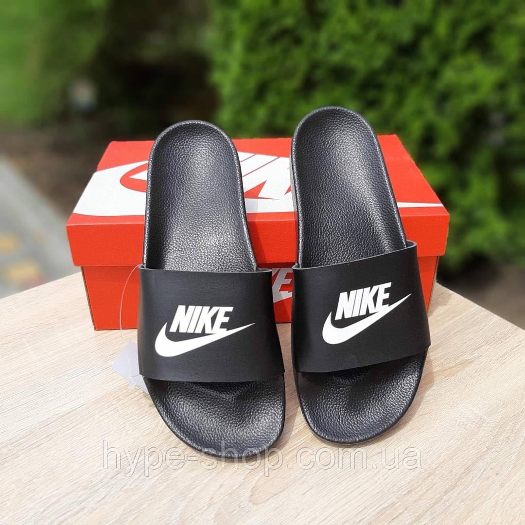 Женские черные Тапки Nike реплика