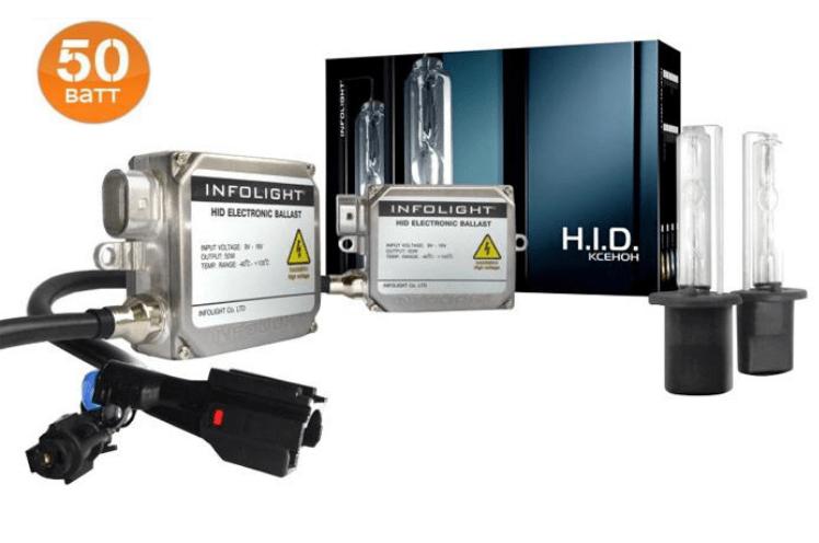 Комплект ксенона Infolight HB4 5000K 50W