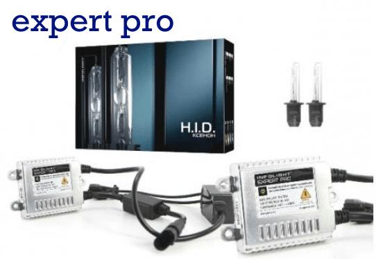 Комплект ксенона Infolight Expert PRO + обманка H7 5000K