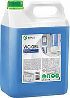 """Средство для чистки сантехники """"GRASS WC- GEL"""" 5 л"""