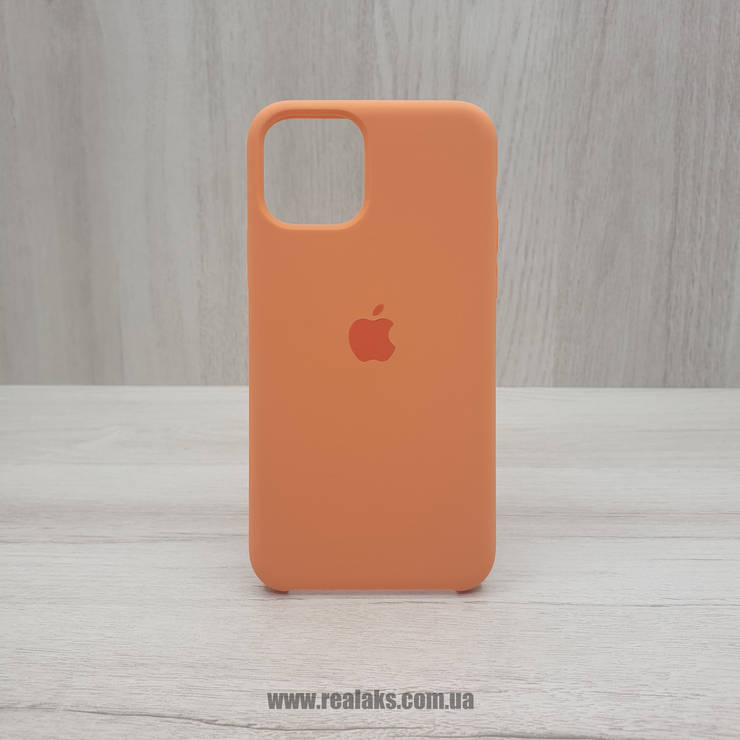 Чехол Silicone Case для Apple iPhone 11 PRO orange, фото 2
