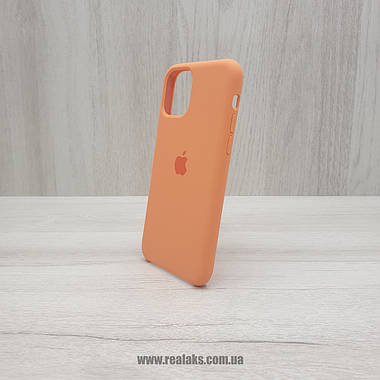 Чехол Silicone Case для Apple iPhone 11 PRO orange, фото 3