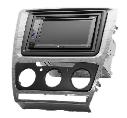 Рамка переходная 11-207 Skoda Oktavia 08-13 (Manual Air-Cond) Grey-HQ, фото 2