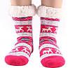 Домашні Жіночі Напівшерстяні Тапочки-Шкарпетки з Антиковзною Підошвою 36-38 розмір