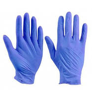 Перчатки Нитриловые Polix PRO&MED ICE BLUE Неопудренные (100 шт./уп.) Синие M