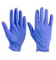 Перчатки Нитриловые Polix PRO&MED ICE BLUE Неопудренные (100 шт./уп.) Синие L