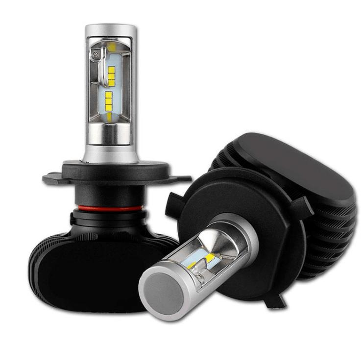 Лампы светодиодные Baxster S1 H4 H/L 6000K 4000Lm (P23795)