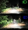 Лампы светодиодные Baxster S1 H4 H/L 6000K 4000Lm (P23795), фото 9