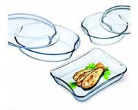 Набір посуду Simax Exclusive (кастр. з криш.330х250х107мм.2,5л,каст. з криш.244х234х93мм. лот.1,5л,)