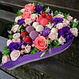 Коробка с фруктами и цветами, фото 2