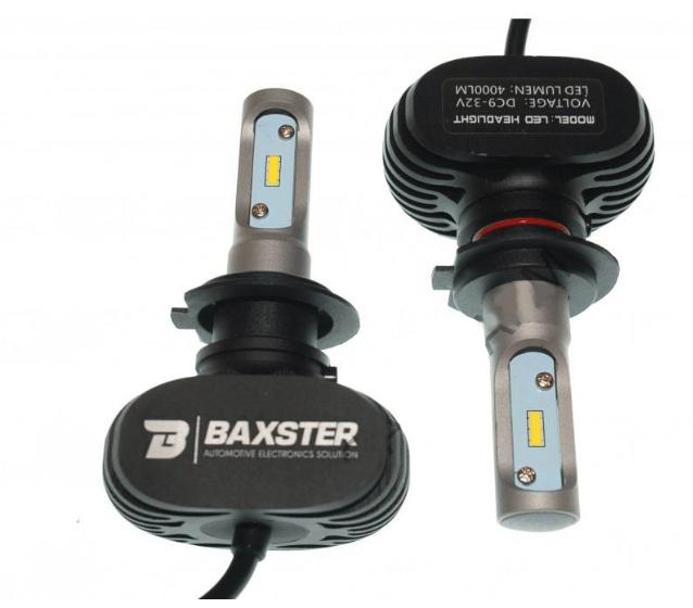Лампы светодиодные Baxster S1 H7 6000K 4000Lm (P23797)