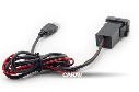 Разъем USB в штатную заглушку Carav 17-104 Toyota/Lexus / 2 порта: аудио + зарядное устройство, фото 2