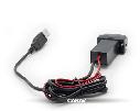 Разъем USB в штатную заглушку Carav 17-107 Mitsubishi / 2 порта: аудио + зарядное устройство, фото 3