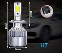 Лампы светодиодные HeadLight C6 H7 12-24V COB (P26490), фото 4