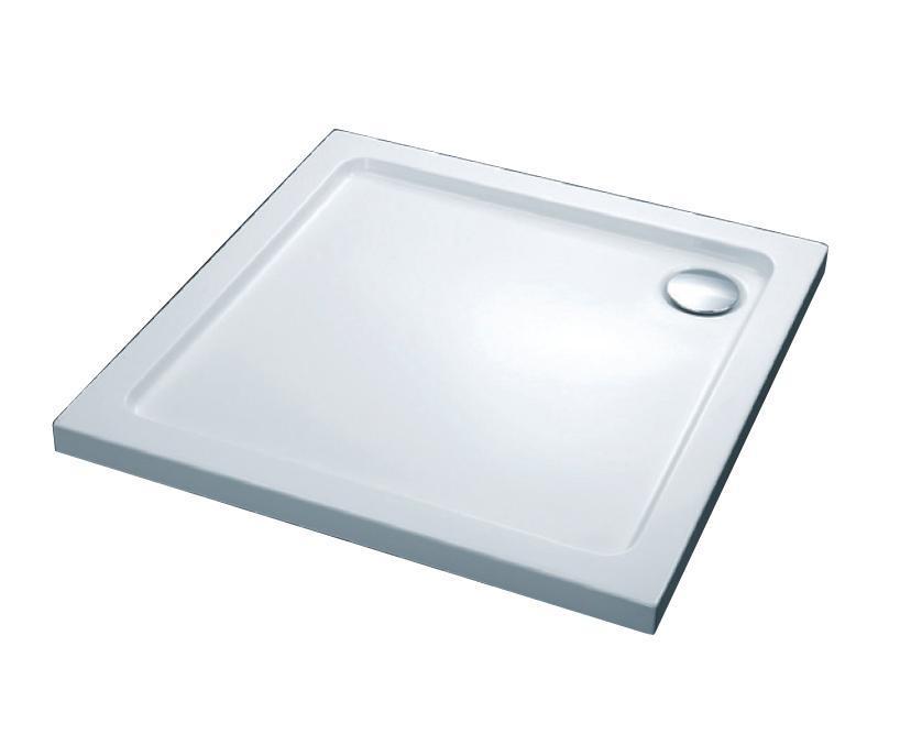 Піддон душовий, квадрат., 100х100, з сифоном 280229 FTR2223 COMFORT