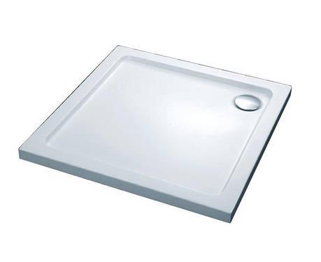 Піддон душовий, квадрат., 100х100, з сифоном 280229 FTR2223 COMFORT, фото 2