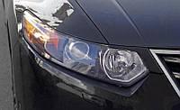 Накладки на фары (Реснички) Honda Accord 8