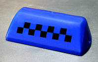 "Auto Sports - ""Шашка"" такси, запасное стекло для ремонта фонаря знака такси (Dark blue)"