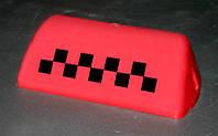 "Auto Sports - ""Шашка"" такси, запасное стекло для ремонта фонаря знака такси (Red)"