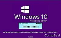Ключ активации Windows 10 Pro 32/64 bit