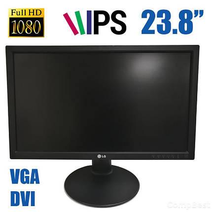 "LG 24MB35PM / 23.8"" (1920x1080), 16:9, AH-IPS WLED / DVI, VGA / встроенные колонки / проф. нога, фото 2"