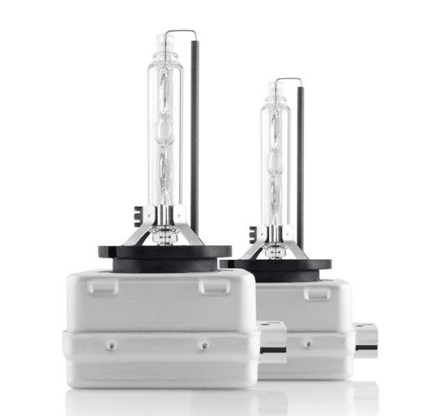Ксеноновая лампа Infolight D1S 5000K с металлическими лапками (2шт)