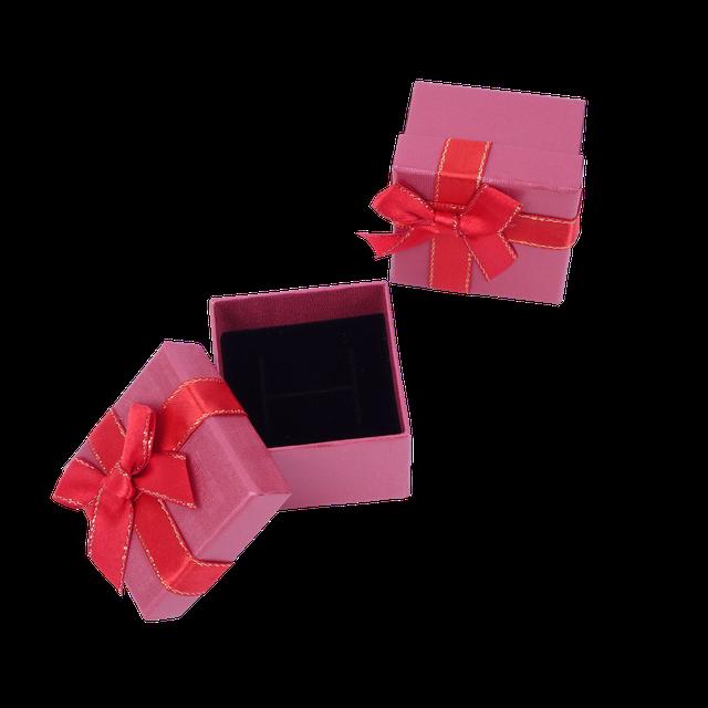Картинка Бумажная коробочка box1-1 Красный