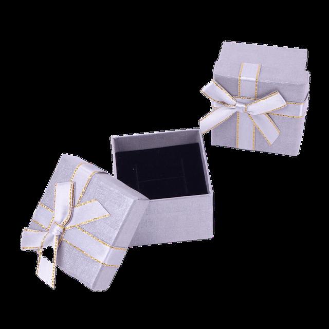 Картинка Бумажная коробочка box1-1 Серый