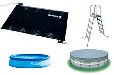Запчасти и аксессуары для летних бассейнов