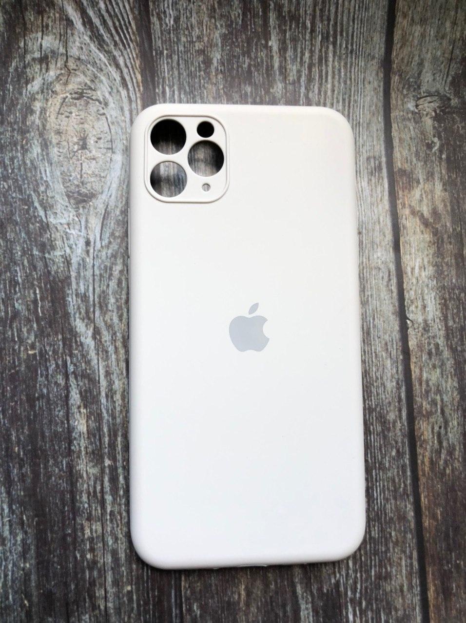 """Чехол для iPhone 11 (silicon case - Full Cover) """"Белый камень - №10"""""""