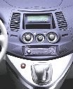 Рамка переходная CARAV 11-250 Mitsubishi Grandis 2DIN (Р19254), фото 3