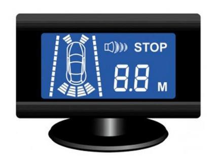 Парковочный радар ParkCity Tallinn 818/305L черный