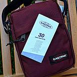 Мужская сумка мессенджер Eastpak THE ONE Country Beige EK04519O сумка через плечо. Живое фото. Реплика, фото 3