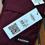 Мужская сумка мессенджер Eastpak THE ONE Country Beige EK04519O сумка через плечо. Живое фото. Реплика, фото 6
