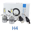 Лампы светодиодные HeadLight C6 H4 6000K (P26488), фото 9