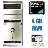 Hyrican PC PCK02992 Tower / AMD Athlon II X2 215 (2 ядра по 2.7GHz) / 4GB RAM / 160GB HDD