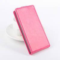 Чохол для фліп LG Magna рожевий, фото 1