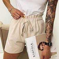 Жіночі стильні шорти з гумкою на поясі, фото 1