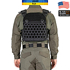 "Плитоноска 5.11 ""All Mission Plate Carrier"" - Black, фото 3"