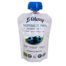 Черничная паста LiQberry (Ликберри), 100 г