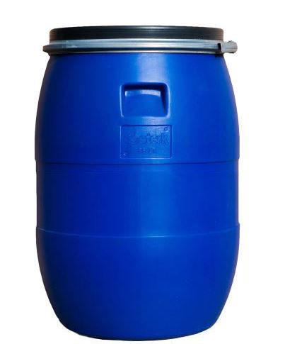 Бочка с зажимом и прокладкой, 85 литров