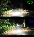 LED Лампа CYCLONE type 9A H1 4000Lm 5000K (P2552), фото 8