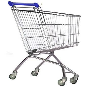 Візки покупця металеві