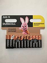 Батарейки Duracell AAА 12шт