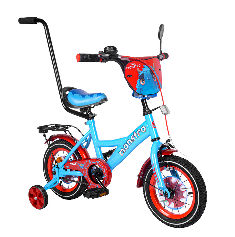"""Велосипед TILLY Monstro 12 T-21228/1 blue+red /1/"""""""