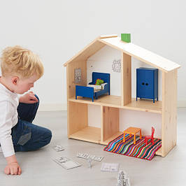 Іграшкова меблі, побутова техніка, будиночки для ляльок