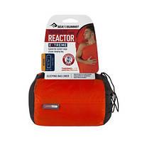Вкладиш в спальник Sea To Summit Thermolite Reactor Extreme Long 225 Orange Sack/Red Liner (STS AREACTEXLONG)